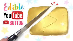 Diy Hacks Youtube by Diy Edible Youtube Play Button Diy Jelly Gummy Gold Play Button