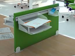 panneau de bureau latéral en tissu phonique pour bureau hellekin