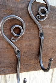 wrought iron coat hook rack nucleus home
