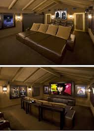 media room lounge