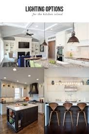 Kitchen Island Lighting Design Lighting Options Over The Kitchen Island