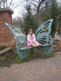 17 best butterfly bench images on pinterest benches butterfly