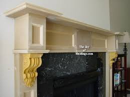 Make A Fireplace Mantel by 10 Fireplace Mantel 102 How To Make Hood Crown Molding The Joy