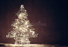Christmas Tree Made Of Christmas Lights - christmas tree shape made of lights stock photo image 80154719