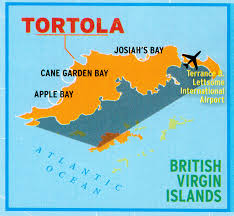 Map Of The Virgin Islands Go There Tortola Grindtv Com