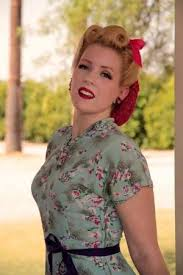 1940s bandana hairstyles 1940 s pinup hair snood vintage victory rolls bow by helena
