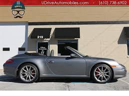 grey porsche 911 convertible 2006 porsche 911 carrera c4s cabriolet 6sp 17k sport sts chrono