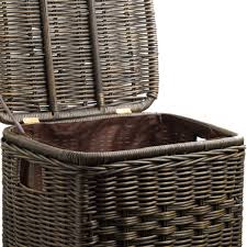 Laundry Hampers With Lid by Articles With Corner Wicker Laundry Basket With Lid Tag Laundry