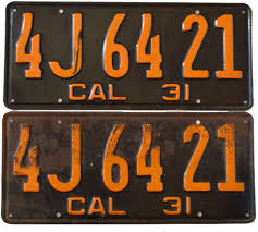 motorcycle vanity plates california yom info for 1929 1930 1931 1932 1933 1934 1935 1936
