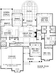 Cottage Floor Plans With Screened Porch 229 Best House Plans Exteriors Images On Pinterest House Floor