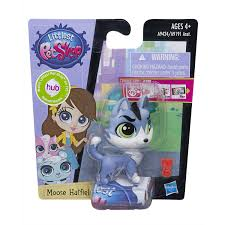 amazon com littlest pet shop get the pets single pack moose