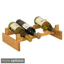 oceanstar 18 bottle stackable wine rack free shipping today