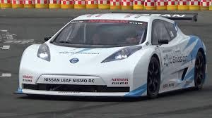 nissan leaf nismo rc evレーシングカー nissan leaf nismo rc ロニー クインタレッリ選手