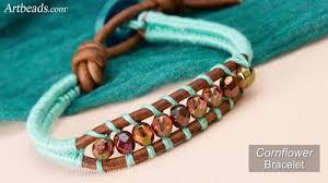 thread cord bracelet images Colorful herringbone thread wrapped bracelet tutorials the jpg