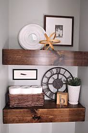 Decorating Bathroom Shelves Best 25 Water Closet Decor Ideas On Pinterest Half Bathroom