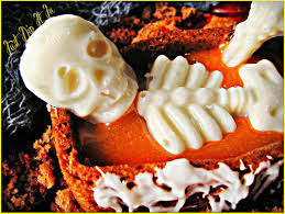 halloween candy cake just dip it in chocolate death by candy corn halloween carrot