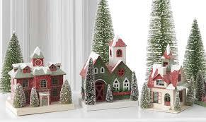 christmas houses raz christmas at shelley b home and christmas putz houses