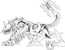 Transformers Coloring Pages Transformers Prime With Bazooka Transformer Color Page