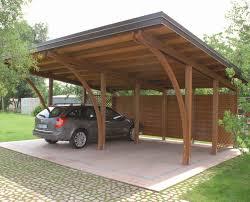 tettoia legno auto tettoia per posto auto in legno pircher