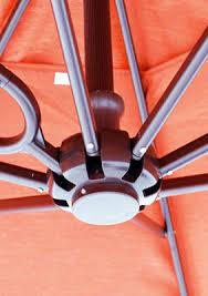 Sunbrella Offset Patio Umbrella Galtech Aluminum 11 U0027 Cantilever Offset Patio Umbrella With
