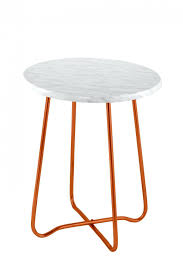 marble side table target furniture side table orange side tables marble table burnt