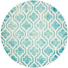 Circular Area Rugs Teal Distressed 7 And Larger Area Rugs Rugs The