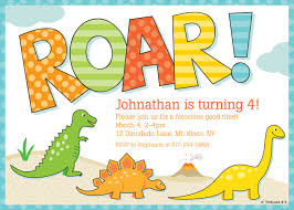 make your own party invitation dinosaur party invitations cloveranddot com