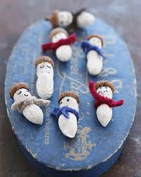 peanut snowmen sweet paul magazine