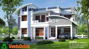 Latest Home Design In Kerala Sq Ft 4 Bhk Double Floor Modern Home Design