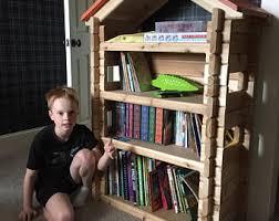 Bookshelf For Toddlers Kids Bookshelf Etsy