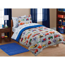 walmart home decorations kids twin bedding sets walmart com only at mainstays transportation