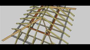 Hip Style Roof Design Hip Roof Procedure Youtube