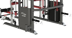 smith machine power rack u0026 functional trainer 2 x 90 kg weight