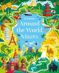 around the world mazes at usborne books at home organisers