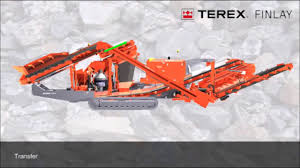 terex finlay c1540rs van laecke group youtube