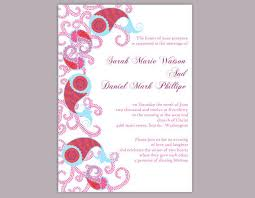 Wedding Invitations Indian Bollywood Wedding Invitation Template Download Printable Wedding