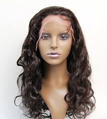 are there any full wigs made from human kinky hair that is styled in a two strand twist for black woman amazon com full lace wigs hand made 100 brazilian virgin remy