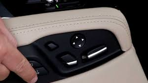 bmw 7 series rear seat adjustment youtube