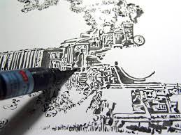 amazon com pentel arts pocket amazon com pentel arts aquash pigment ink brush light black ink