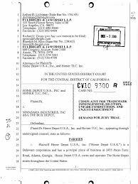 Home Depot Job Fair In Atlanta Ga Home Depot Trademark Infringement Complaint Against The Box Depot