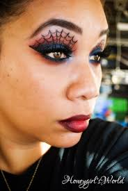halloween makeup amazing spiderman inspired makeup look