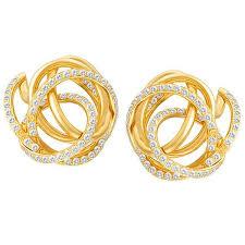 yellow gold earrings 89 best world s best earrings images on diamond