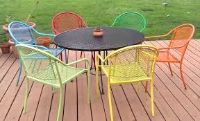 Antique Metal Patio Chairs Retro Metal Patio Furniture Hixathens