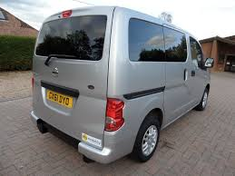 mpv van used 2011 nissan nv200 5 seat constables wheelchair accessible wav