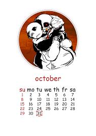 where can i buy a calendar underfell sans undertale sans shipping sfw october calendar
