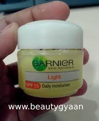 light moisturizer for sensitive skin garnier skin naturals light daily moisturiser spf 15 review