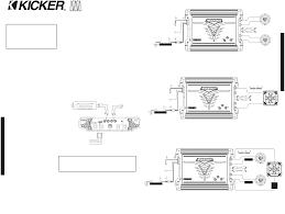 kicker cx300 1 wiring diagram kicker wiring diagrams collection