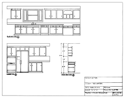 tag for elivation and plan of kitchen new kitchen evelvation