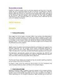 apple inc strategic case analysis