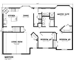 bungalow floor plans bungalow ranch house plan level one with